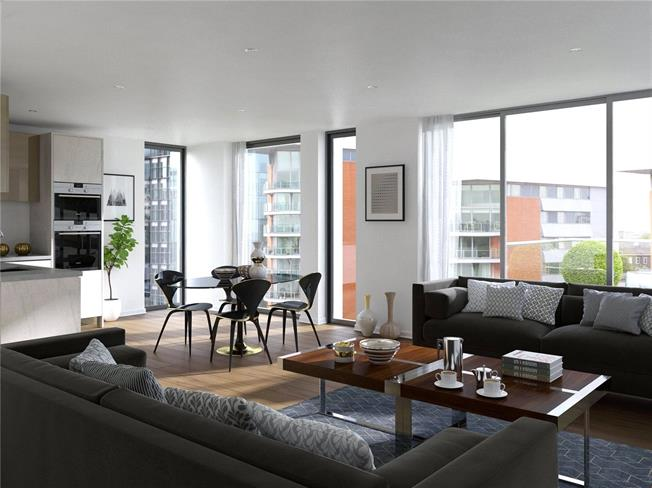 Asking Price £1,370,000, 2 Bedroom Flat For Sale in London, W2