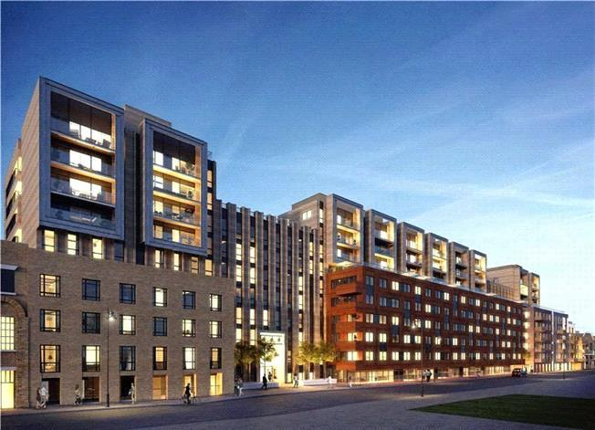 Guide Price £715,000, 1 Bedroom Flat For Sale in Wharf Road, London, N1