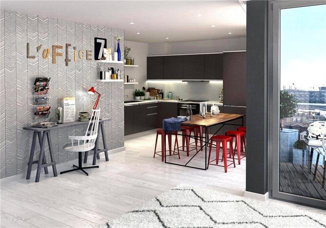 Asking Price £787,000, 2 Bedroom Flat For Sale in London, W10
