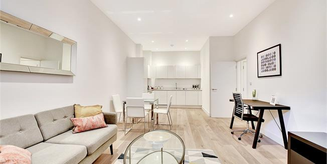 Asking Price £399,995, 1 Bedroom Flat For Sale in Limehouse, London, E14