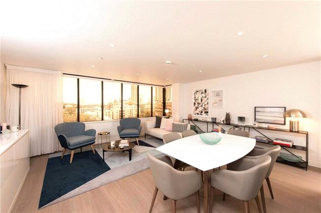 Asking Price £1,700,000, 3 Bedroom Flat For Sale in City Of London, EC2Y