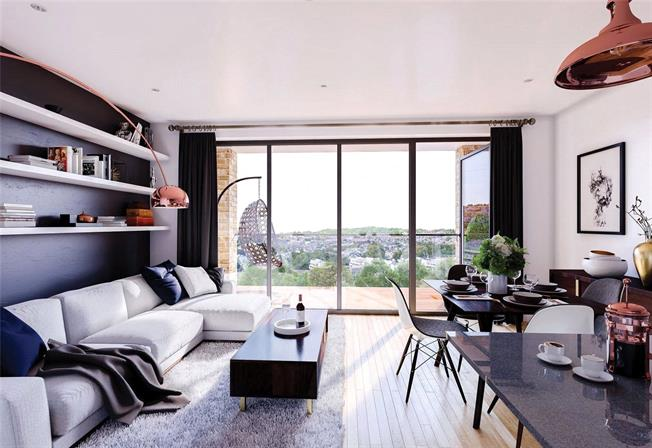 Asking Price £526,000, 2 Bedroom Flat For Sale in Woolwich, SE18