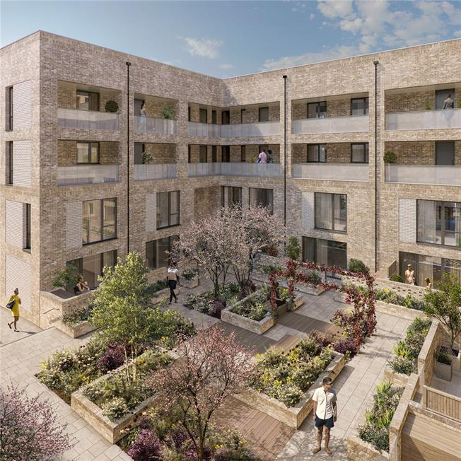 Asking Price £484,950, 2 Bedroom Flat For Sale in Blair Street, London, E14