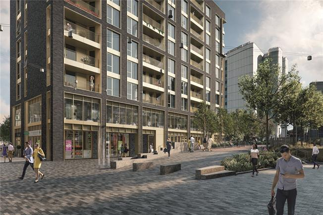 Asking Price £529,950, 2 Bedroom Flat For Sale in Blair Street, London, E14
