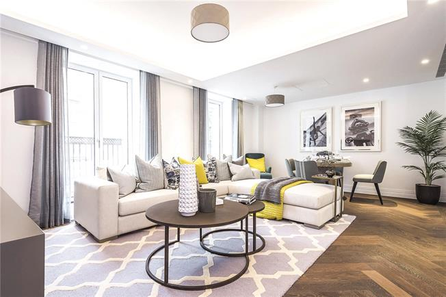 Asking Price £1,575,000, 2 Bedroom Flat For Sale in London, SW1P