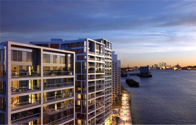 Asking Price £710,000, 2 Bedroom Flat For Sale in London, SE18