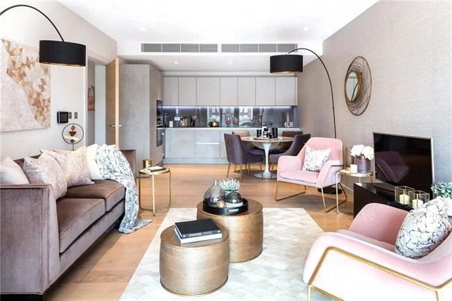 Fixed Price £1,365,000, 2 Bedroom Flat For Sale in London, SW1V
