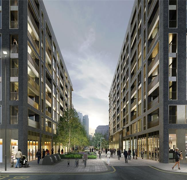 Asking Price £600,000, 2 Bedroom Flat For Sale in Blair Street, London, E14