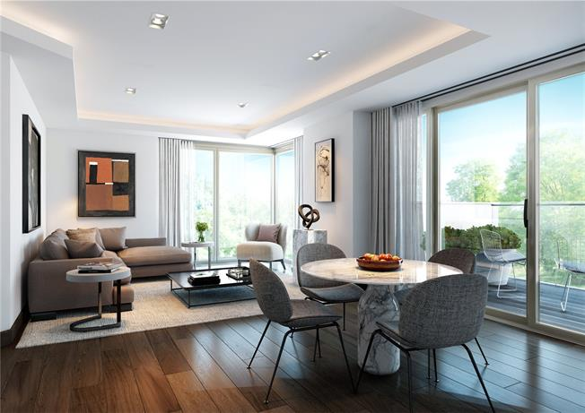 Asking Price £920,000, 1 Bedroom Flat For Sale in London, W2