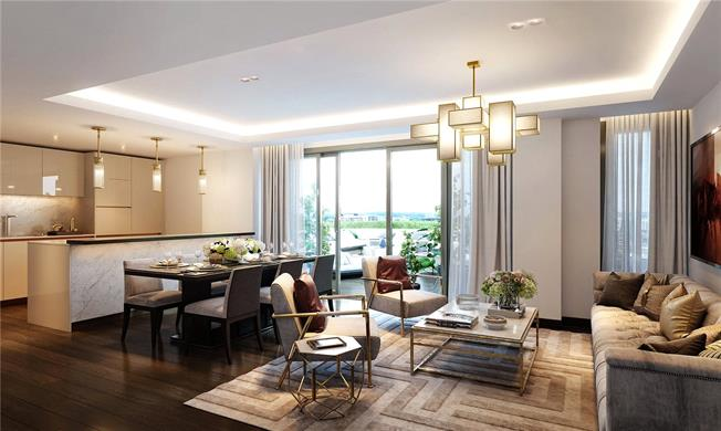 Asking Price £1,990,000, 3 Bedroom Flat For Sale in London, W2