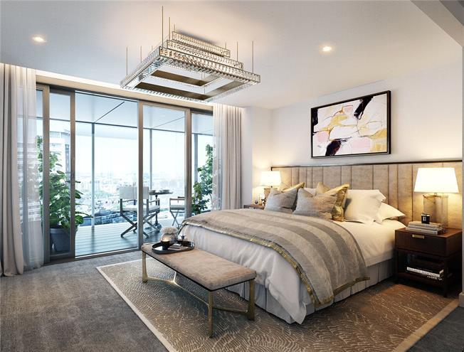 Asking Price £1,255,000, 2 Bedroom Flat For Sale in Paddington, London, W2