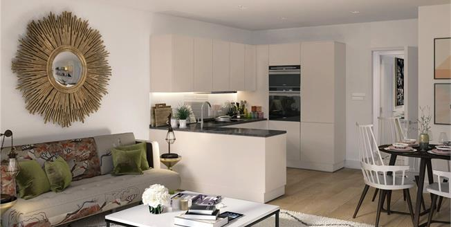Asking Price £845,000, 2 Bedroom Flat For Sale in Ladbroke Grove, London, W10