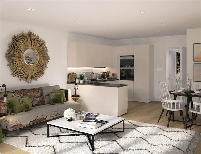 Asking Price £795,000, 2 Bedroom Flat For Sale in London, W10