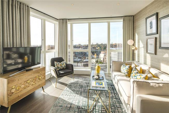 Asking Price £525,000, 1 Bedroom Flat For Sale in London, W10