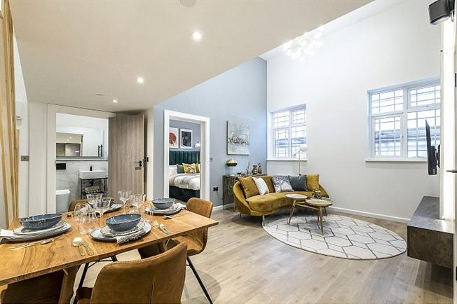 Asking Price £535,000, 2 Bedroom Flat For Sale in London, SW20
