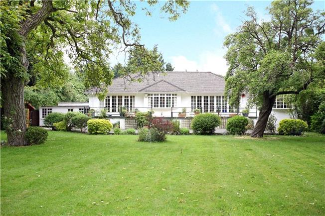 Offers in excess of £1,550,000, 4 Bedroom Bungalow For Sale in Maidenhead, Berkshire, SL6