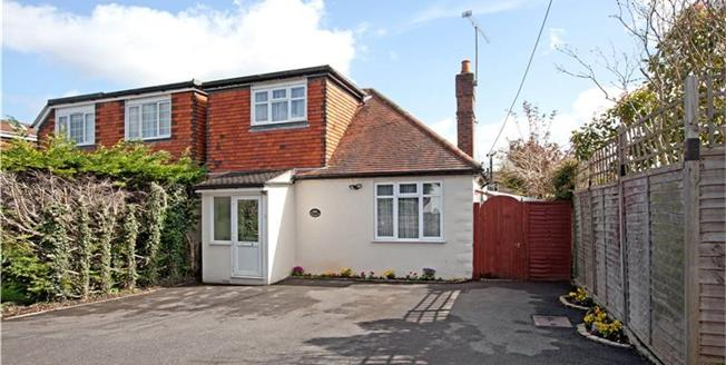 Guide Price £495,000, 3 Bedroom Semi Detached House For Sale in Berkshire, SL6