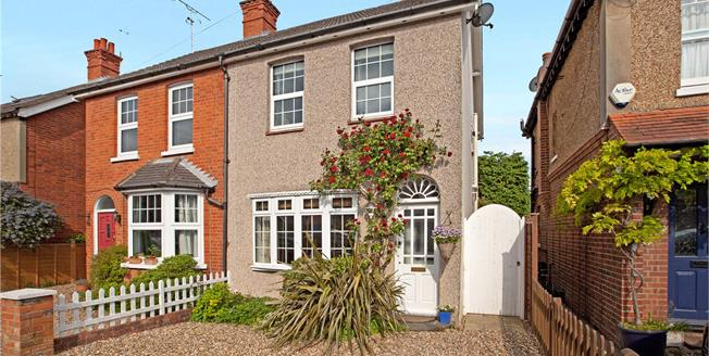 Guide Price £550,000, 3 Bedroom Semi Detached House For Sale in Maidenhead, SL6