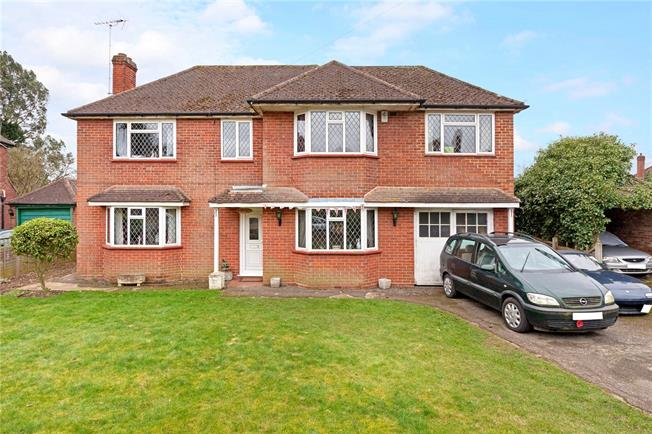 Offers in excess of £695,000, 4 Bedroom Detached House For Sale in Taplow, SL6