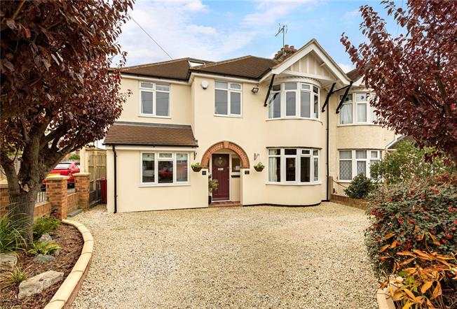 Guide Price £725,000, 5 Bedroom Semi Detached House For Sale in Slough, SL1