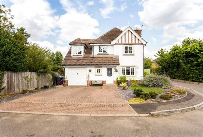 Asking Price £680,000, 4 Bedroom Detached House For Sale in Maidenhead, SL6