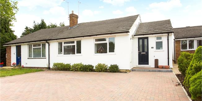 Guide Price £475,000, 2 Bedroom Bungalow For Sale in Maidenhead, SL6