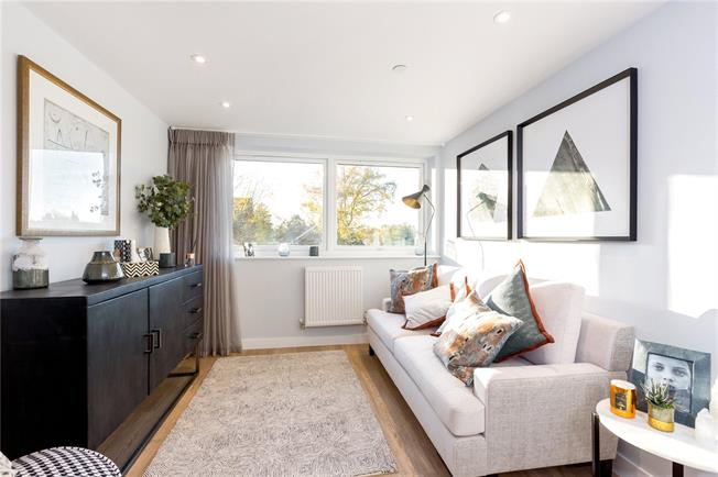 Asking Price £200,000, 1 Bedroom Flat For Sale in Maidenhead, Berkshire, SL6