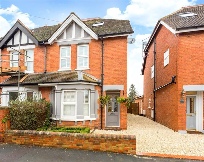 Offers in excess of £650,000, 3 Bedroom Semi Detached House For Sale in Maidenhead, SL6