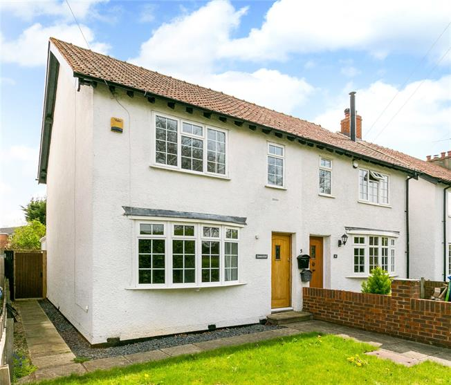 Guide Price £450,000, 3 Bedroom Semi Detached House For Sale in Maidenhead, SL6