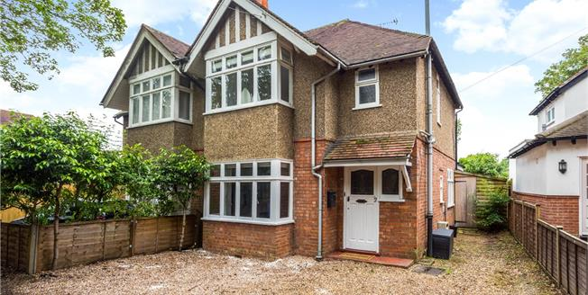 Guide Price £535,000, 3 Bedroom Semi Detached House For Sale in Maidenhead, SL6