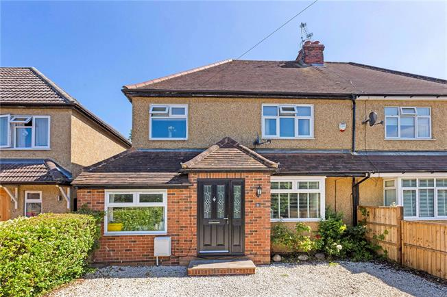 Guide Price £599,950, 4 Bedroom Semi Detached House For Sale in Holyport, SL6