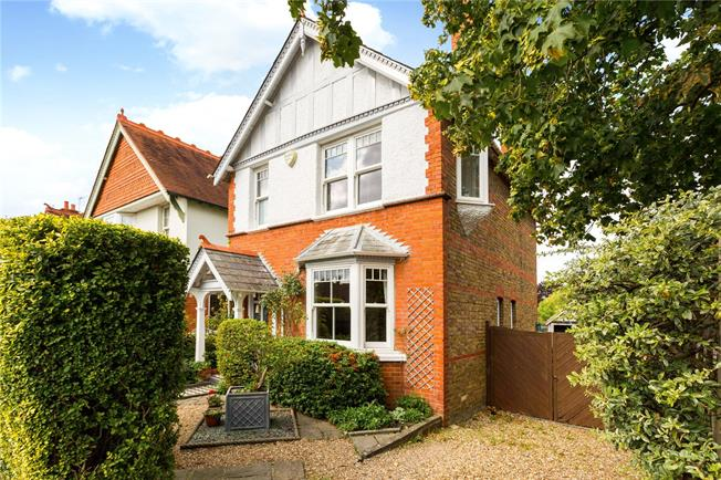 Offers in excess of £800,000, 4 Bedroom Detached House For Sale in Maidenhead, SL6