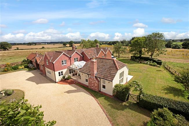 Guide Price £1,200,000, 5 Bedroom Detached House For Sale in Devizes, Wiltshire, SN10
