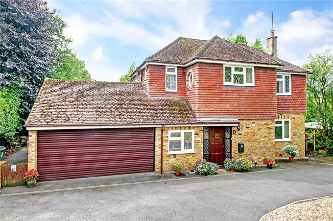 Guide Price £550,000, 4 Bedroom Detached House For Sale in Manton, SN8