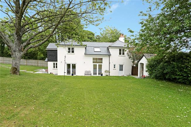Guide Price £595,000, 4 Bedroom Semi Detached House For Sale in Collingbourne Ducis, Marl, SN8