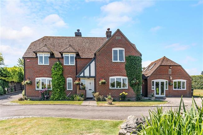 Guide Price £750,000, 4 Bedroom Detached House For Sale in Collingbourne Ducis, SN8