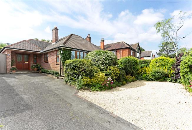 Guide Price £635,000, 3 Bedroom Bungalow For Sale in Wiltshire, SN8
