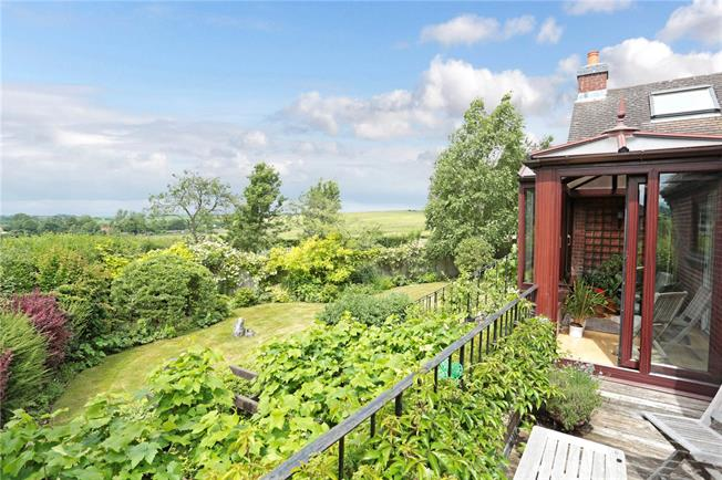 Guide Price £1,050,000, 5 Bedroom Detached House For Sale in Manton, SN8