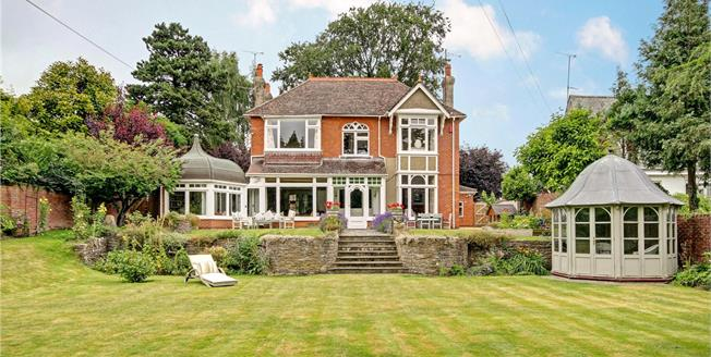 Guide Price £940,000, 5 Bedroom Detached House For Sale in Wiltshire, SN1