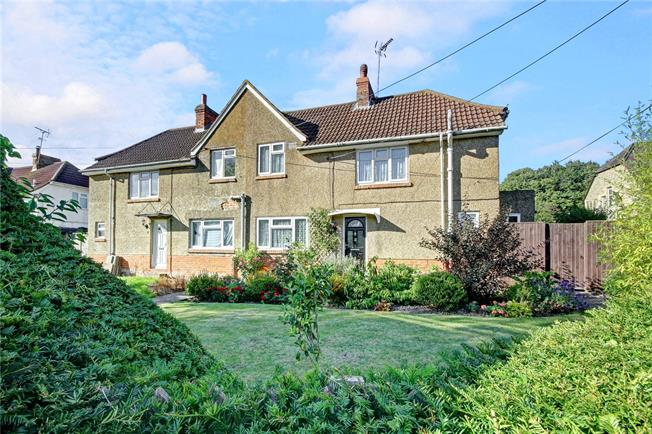 Guide Price £305,000, 3 Bedroom Semi Detached House For Sale in Collingbourne Ducis, SN8