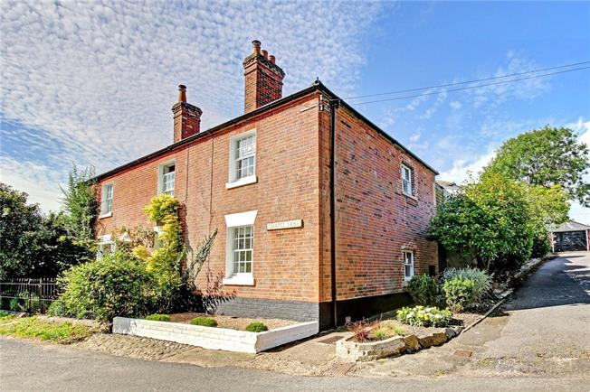 Guide Price £350,000, 2 Bedroom Semi Detached House For Sale in Upavon, SN9