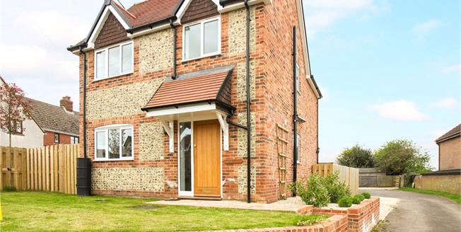 Guide Price £365,000, 3 Bedroom Detached House For Sale in Baydon, SN8