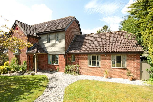 Guide Price £730,000, 5 Bedroom Detached House For Sale in Ogbourne St. George, SN8