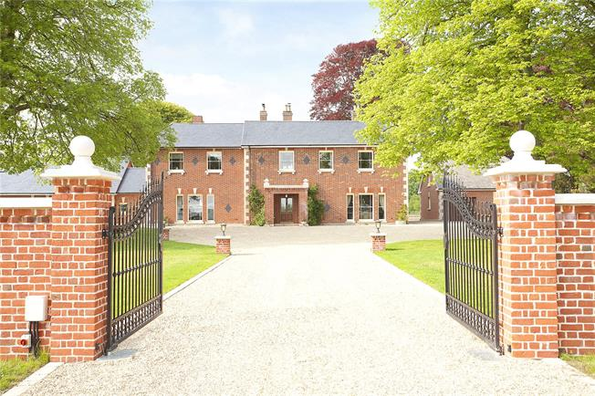 Guide Price £1,850,000, 6 Bedroom Detached House For Sale in Berwick Bassett, SN4