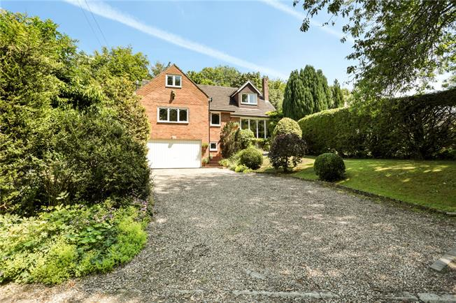 Guide Price £580,000, 4 Bedroom Detached House For Sale in Badbury, SN4