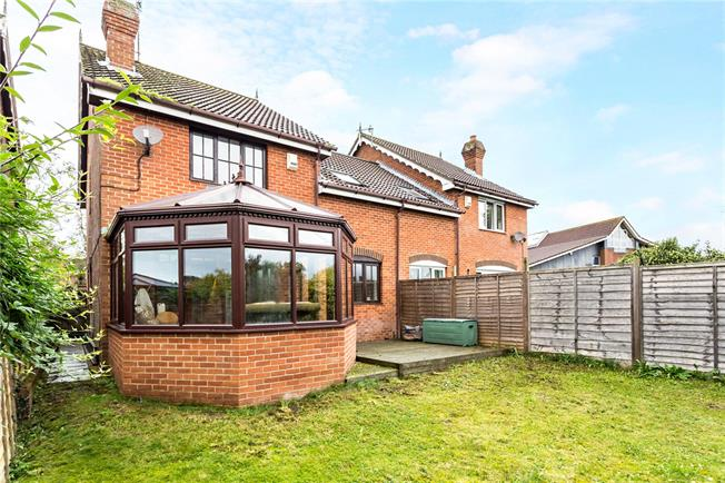Guide Price £355,000, 3 Bedroom Semi Detached House For Sale in Great Bedwyn, SN8