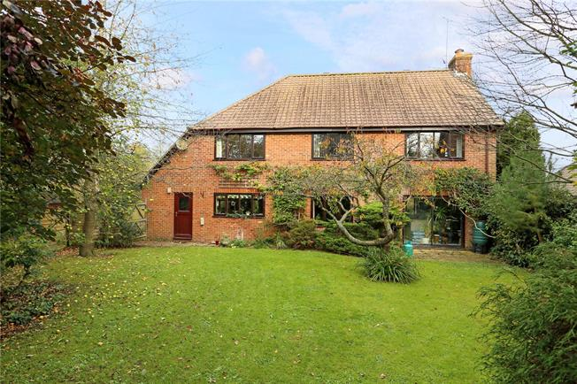 Guide Price £635,000, 4 Bedroom Detached House For Sale in Marlborough, Wiltshire, SN8