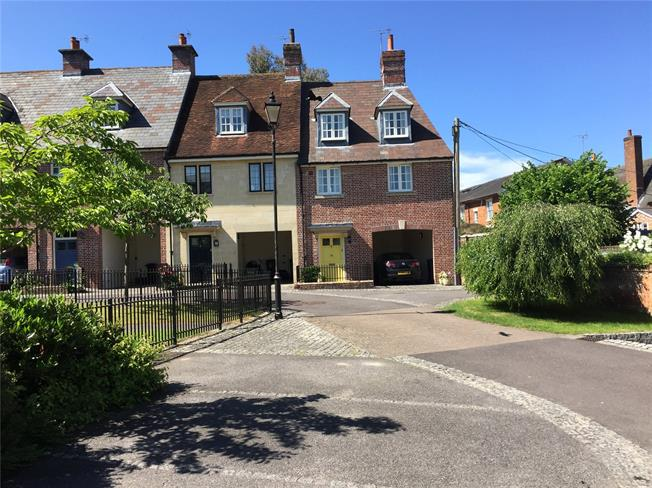 Guide Price £425,000, 3 Bedroom End of Terrace House For Sale in Wiltshire, SN9