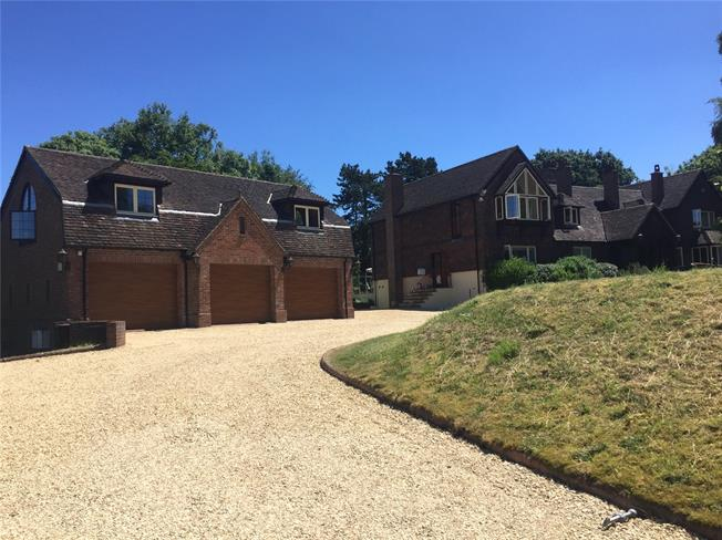 Guide Price £1,600,000, 5 Bedroom Detached House For Sale in Wiltshire, SN8