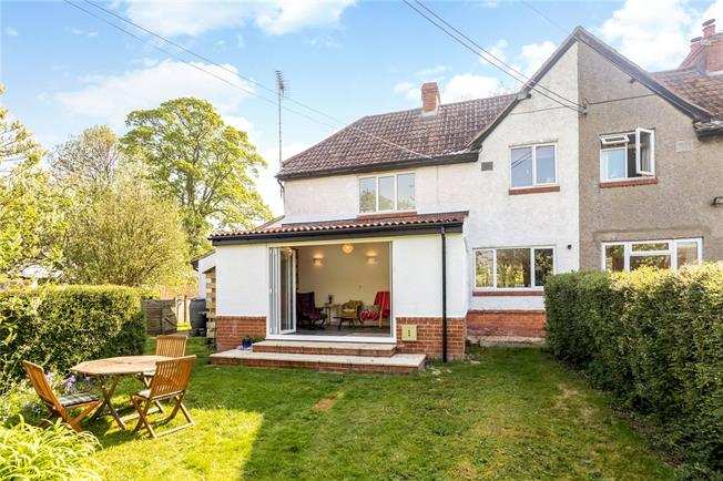 Guide Price £375,000, 3 Bedroom Semi Detached House For Sale in Marlborough, Wiltshire, SN8